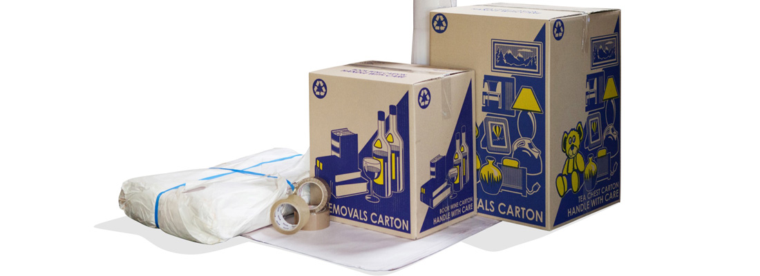 We sell packaging materials